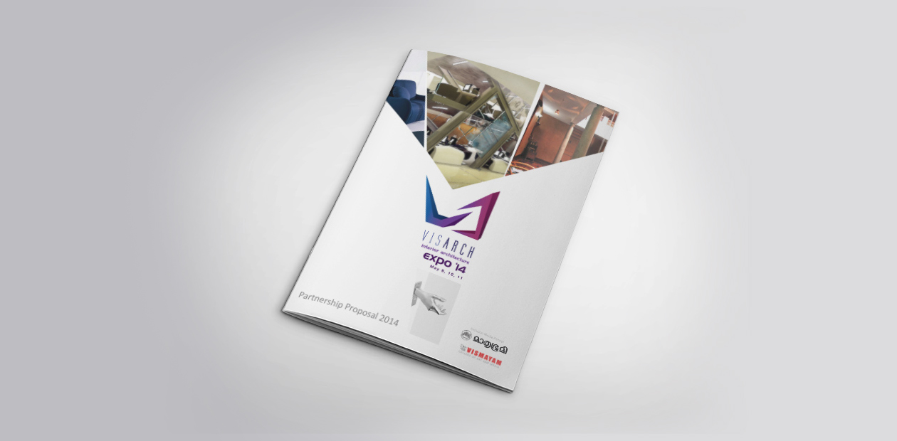 exhibition design and Brochure design
