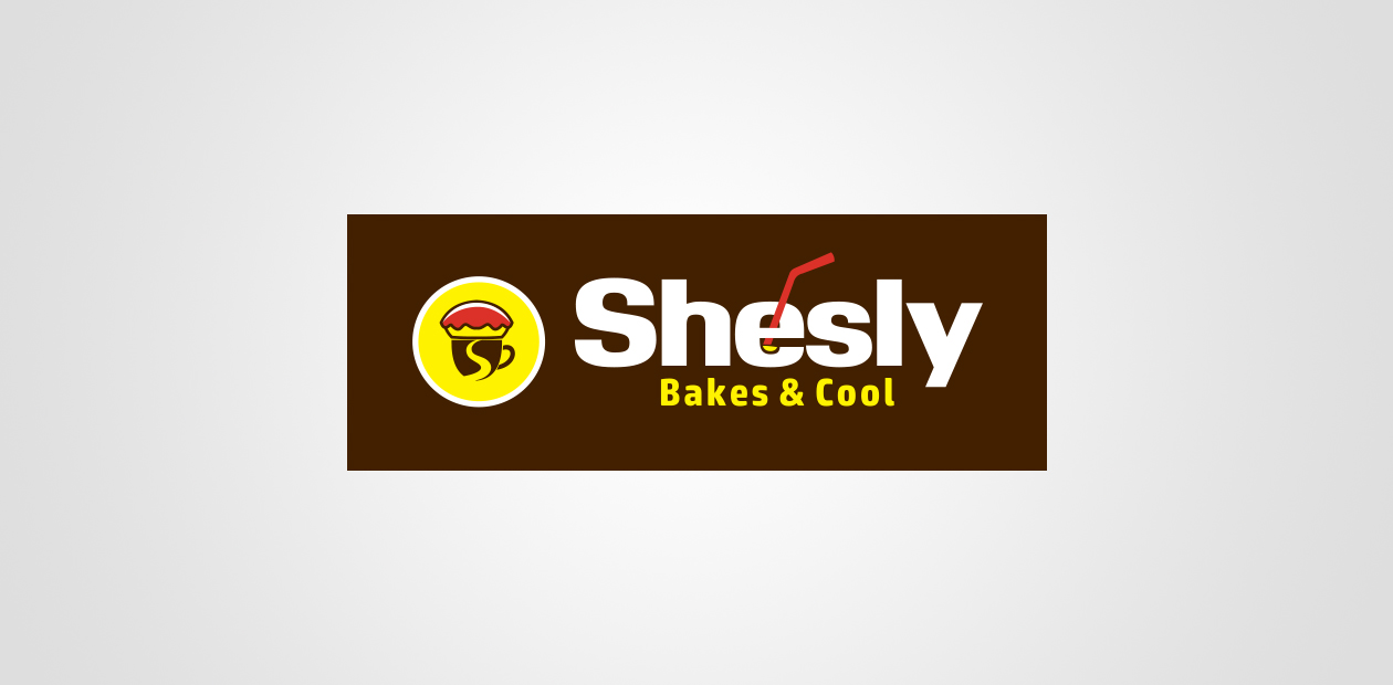 Food logo shesly bakes