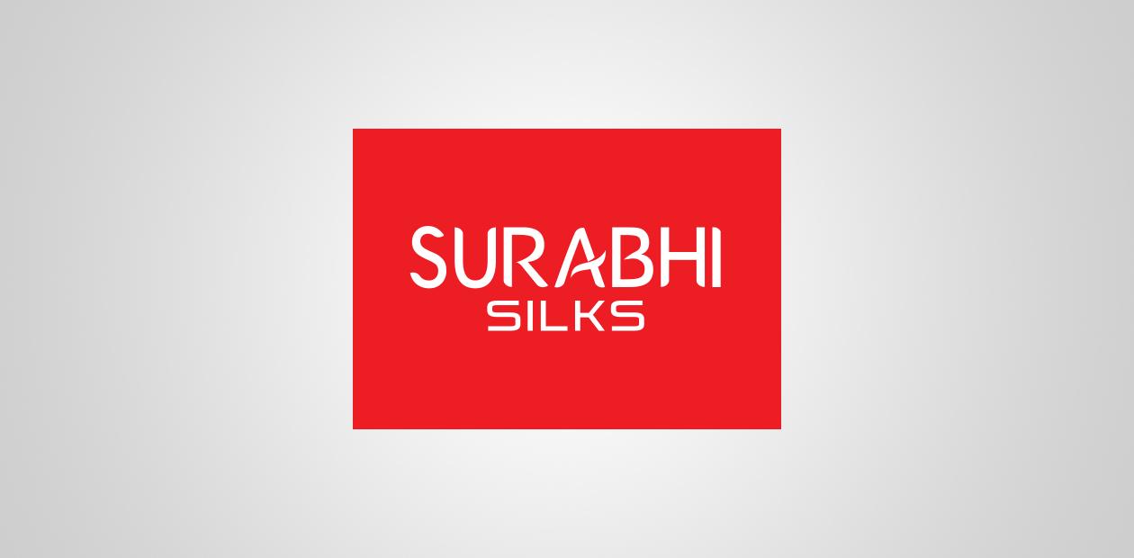 brand promotion Surabhi silks logo