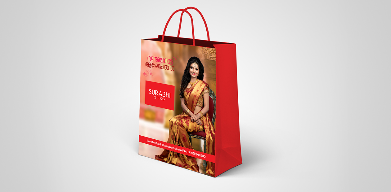 Surabhi silks shopper-brand promotion
