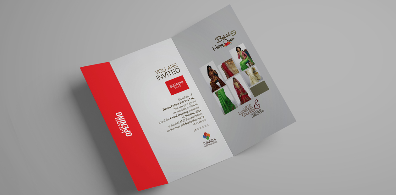 brand promotion and invitation design